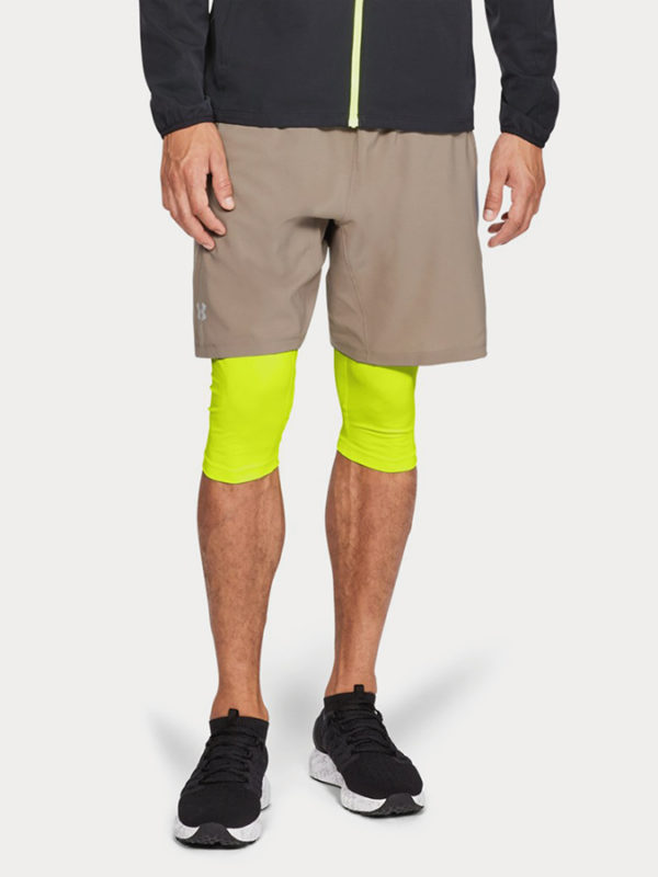 Kraťasy Under Armour Launch Sw 2-In-1 Long Short Hnědá