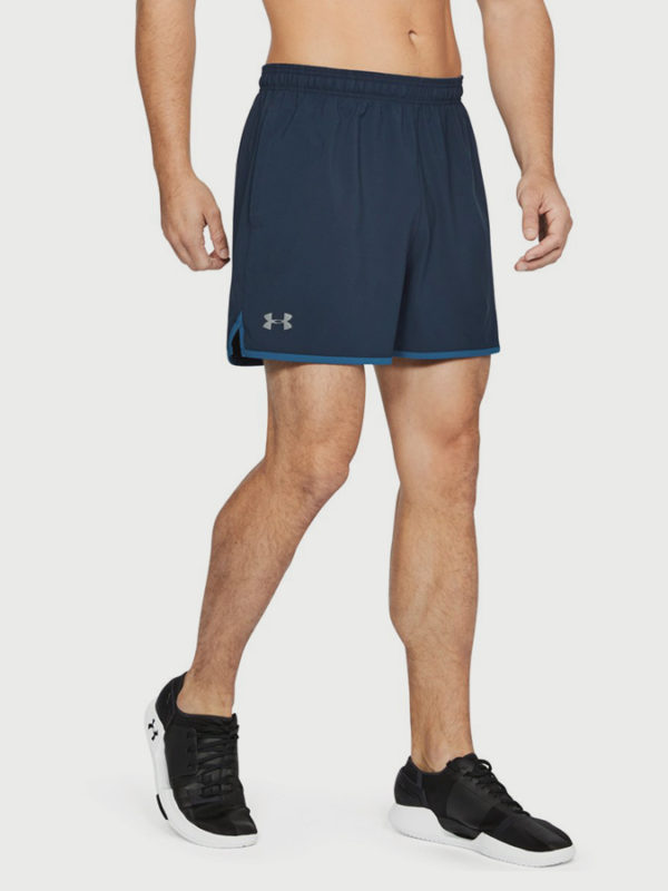 Kraťasy Under Armour Qlifier 5'' Woven Short Modrá