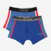 Boxerky Puma Bold Cat Boxer 2 Pack Blue Red Modrá