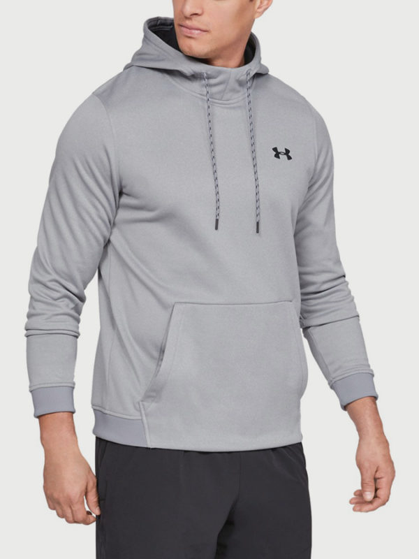 Mikina Under Armour Fleece Po Hoodie Šedá