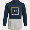 Mikina Under Armour Unstoppable Double Knit Hoody Modrá