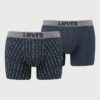 Boxerky LEVI'S 200Sf Message Boxer Brief 2 Pack Barevná