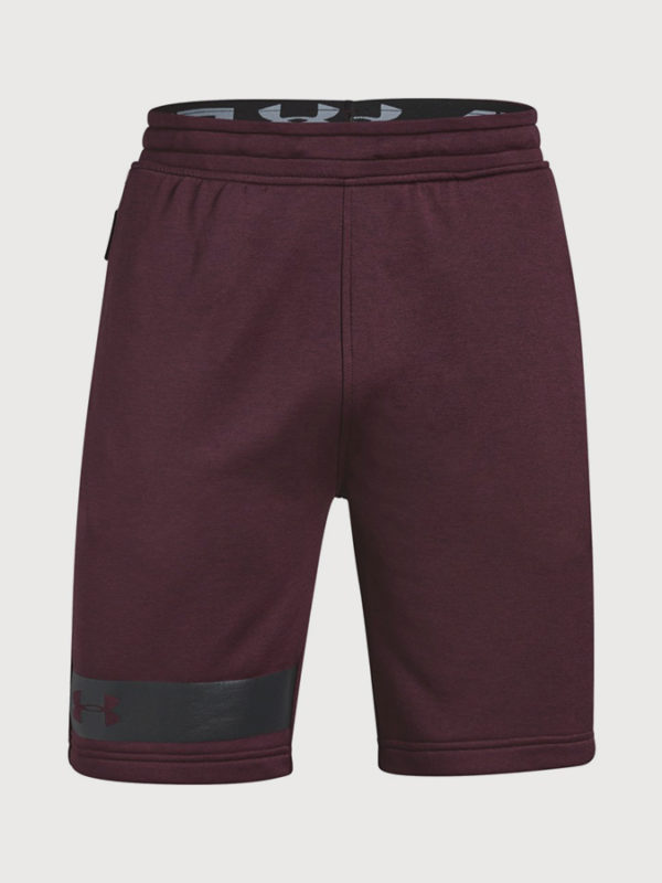 Kraťasy Under Armour MK1 Terry Short Červená