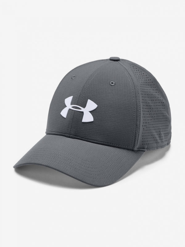 Kšiltovka Under Armour Men'S Driver Cap 3.0-Gry Šedá