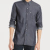 Košile LEVI'S Sunset 1 Pocket Shirt Flat Black Modrá