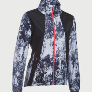 Bunda Under Armour Intl Printed Run Jacket Barevná