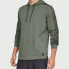 Mikina Under Armour Microthread Terry Po Hoodie Zelená