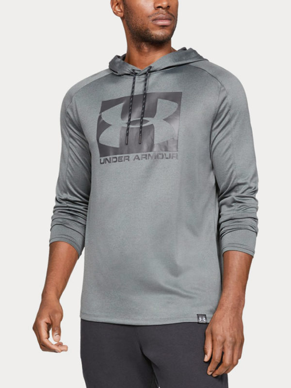 Mikina Under Armour Lighter Longer Po Hoodie Šedá