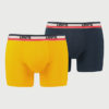 Boxerky LEVI'S 200Sf Olympic Color Boxer Brief 2 Pack Barevná