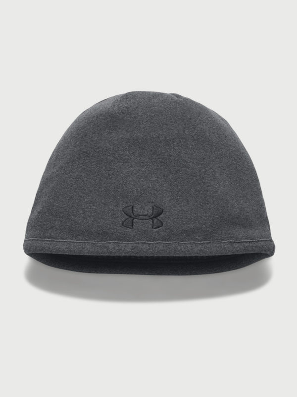 Čepice Under Armour Men's Survivor Fleece Beanie Černá
