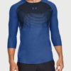 Tričko Under Armour Threadborne Vanish 3/4 Slv Modrá