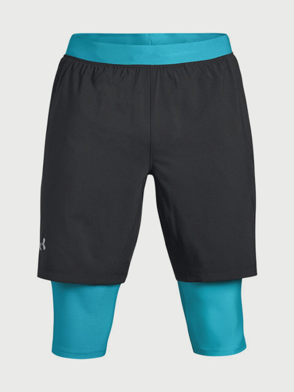 Kraťasy Under Armour Launch Sw Long Short Černá