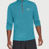 Tričko Under Armour Threadborne Streaker 1/4 Zip Modrá