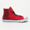 Boty Converse Chuck Taylor All Star We Are Not Alone Červená