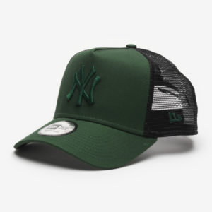 Kšiltovka New Era 940 Af trucker MLB The league essential NEYYAN Zelená