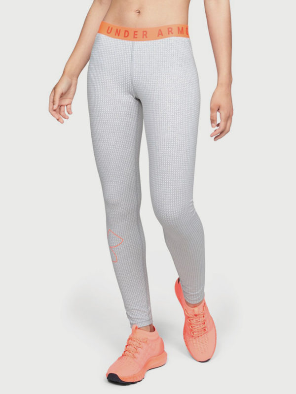 Legíny Under Armour Favorite Grph Legging Logo Šedá