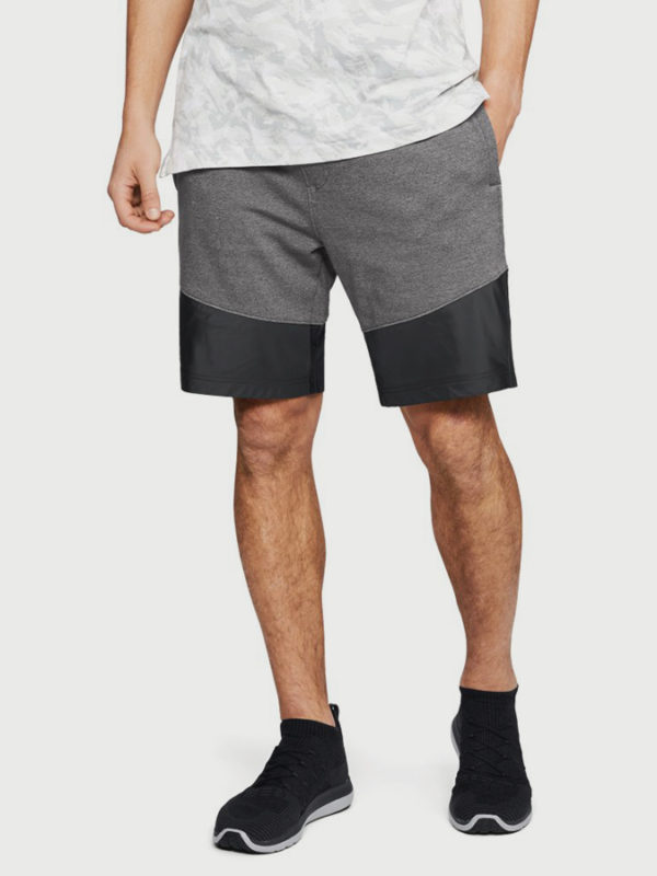 Kraťasy Under Armour Threadborne Terry Short Šedá