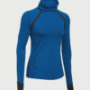 Mikina Under Armour CG Reactor Run Funnel Neck Modrá