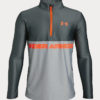 Mikina Under Armour Tech 1/2 Zip Šedá