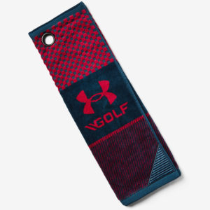 Ručník Under Armour Bag Golf Towel-Red Barevná