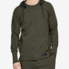 Mikina Under Armour Accelerate Off-Pitch Hoodie-GRN Zelená
