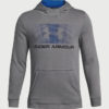Mikina Under Armour Ctn French Terry Hoody Šedá