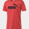 Tričko Puma Essentials+ Heather Tee Červená