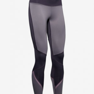 Kompresní legíny Under Armour Cg Legging Graphic-Ppl Fialová