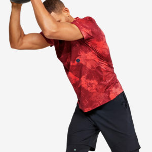 Trička Under Armour Hg Rush Fitted Ss-Red