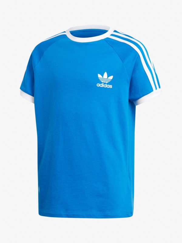 Tričko adidas Originals 3Stripes Tee Modrá