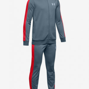 Souprava Under Armour Knit Track Suit-Gry Modrá