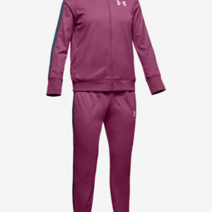 Souprava Under Armour Em Knit Track Suit-Pnk Růžová